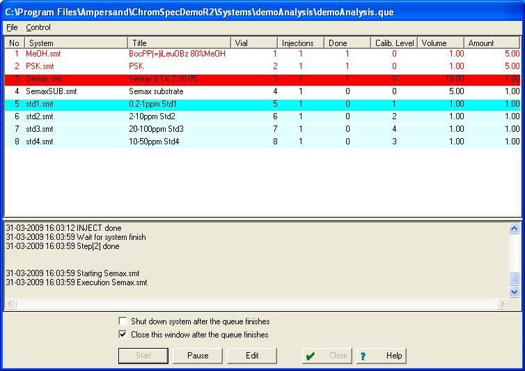 программа градуировочные таблицы